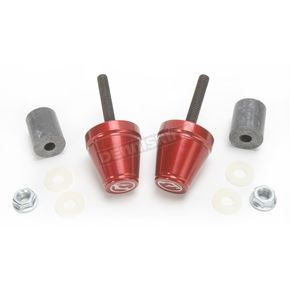 Driven Racing Red Bar End V2 Weights - DBEW2-RD