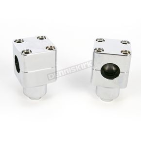 Wild 1 Inc. Chrome Chubby® Billet 1 1/2 in. Springer Risers - W0533