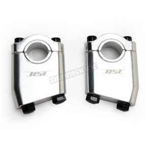 Race Shop Inc. 15 Degree Angled Handlebar Risers - AR-2S-15