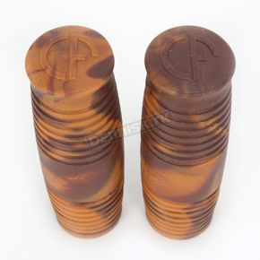 Lowbrow Customs Mocha Marble Cole Foster Grips - 003044