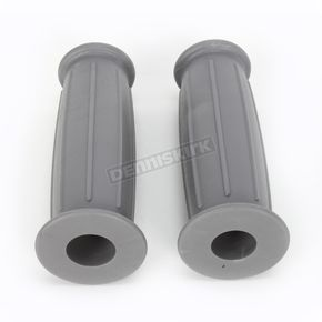 Lowbrow Customs Dove Gray GT Grips - 003035