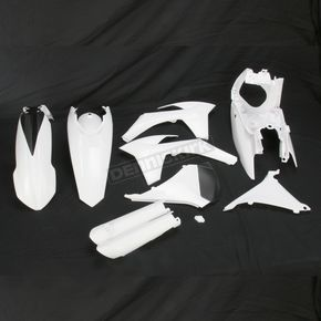 Acerbis White Full Replacement Plastic Kit - 2250400002