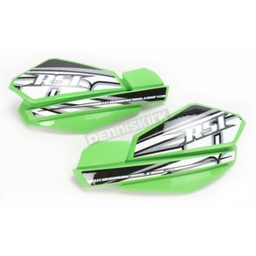 Race Shop Inc. Green Handguards - HG-1-GRN