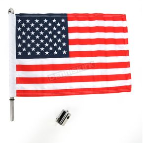 Pro Pad Rear Flag Mount w/Flag - RFM-MSQ15