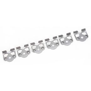 Cycle Performance 1/4 in. D-Ring/Oval Head Weld-On Fastener Plates for 3/4 in. Spring - CPP/9035-A