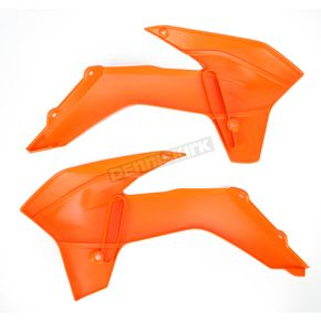 UFO Orange KTM Radiator Shroud - KT04042-127