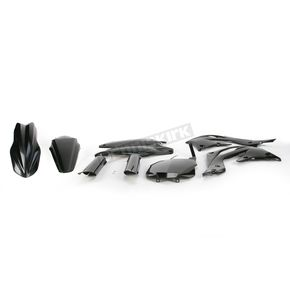 Acerbis Black Full Replacement Plastic Kit - 2314200001