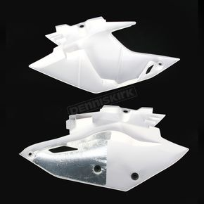 Acerbis White Side Panels - 2314120002