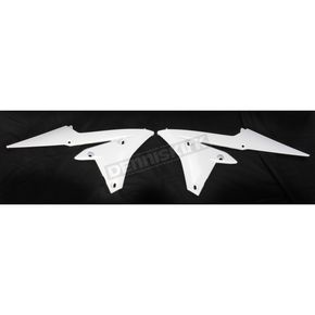 UFO White Radiator Covers  - YA04838-046