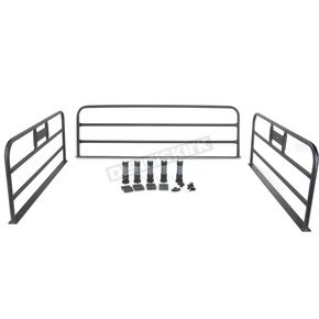 Moose Black Powder-Coated Bed Rails - 0521-1124