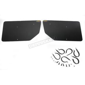 Maier Black Rear Number Plates - 195720