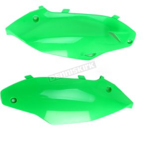 Acerbis Fluorescent Green Side Panels - 2386380235