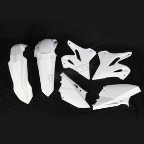 Acerbis Standard White Replacement Plastics Kit - 2402970002