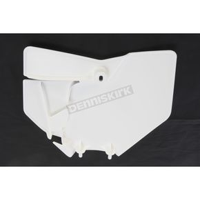 UFO White Front Number Plate - KT04063-047