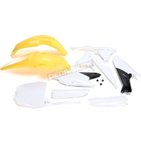 Acerbis Yellow/White Standard Replacement Plastic Kit - 2374181070