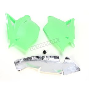 Acerbis Fluorescent Green Replacement Side Panels - 2449560235