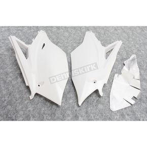 Acerbis White Replacement Side Panels - 2449560002
