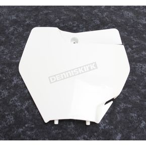 Acerbis White Front Number Plate - 2421120002