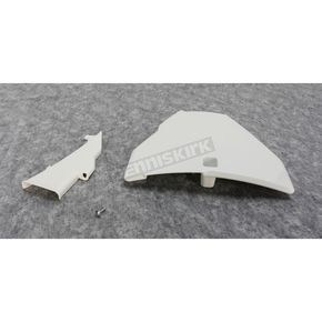 UFO White Front Number Plate - HU03667-047