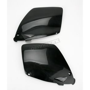 Acerbis Black Side Panels/Rear Number Plate - 2043330001
