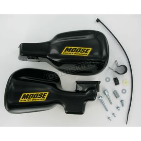 Moose Black Handguards - 0635-0074