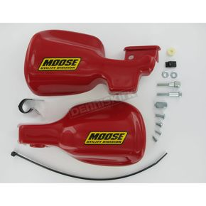 Moose Red Handguards - 0635-0075