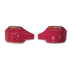 Maier Red Extra Coverage Add-On Handguards for Deluxe Woods Pro Guards - 595162