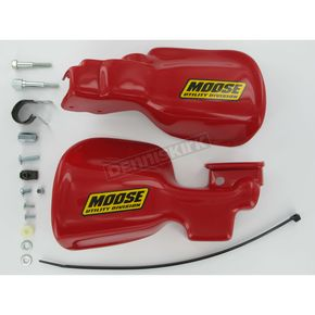 Moose Red Handguards - 0635-0196