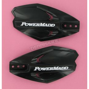 PowerMadd Black PowerX Series Handguards - 34280