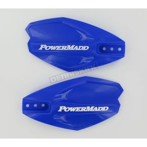PowerMadd Blue PowerX Series Handguards - 34281