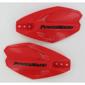 PowerMadd Red PowerX Series Handguards - 34282