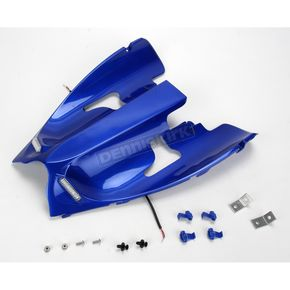 Hotbodies Racing Superbike Rear Blue Undertail Fender Eliminator - Y04R1-SB-BLU