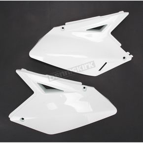Acerbis White Side Panels - 2081930002