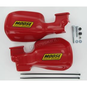 Moose Red Handguards  - 0635-0545