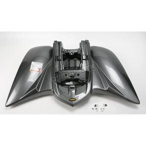 Maier Black Carbon Fiber ATV Rear Fender - 18979