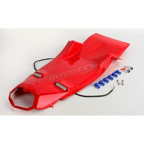 Hot Bodies Racing Superbike Rear Passion Red Undertail Fender Eliminator - 50802-1103