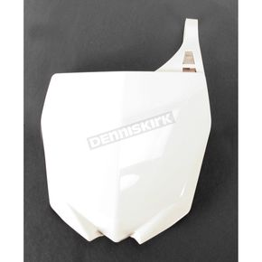 Acerbis White Front Number Plate - 2171750002