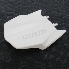 UFO White Front Number Plate - HU03343-041