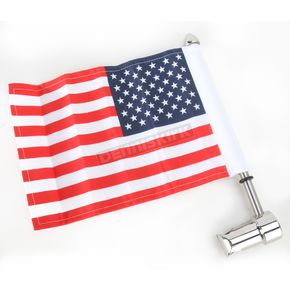 Pro Pad Side Mount Sissy Bar Flag Mount for 11/16 in. Round Sissy  - RFM-RDSB1