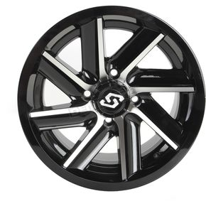Front/Rear Chopper Machined Wheel - 570-1280