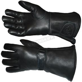 Churchill Maverick Classic Waterproof Gauntlet Gloves - CGTW-BLK-L