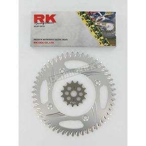 RK GB520MXZ4 Chain and Sprocket Kit - 2012-038ZG