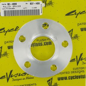 Cycle Visions 1/4 in. Pulley/Sprocket Spacer - CV-2001