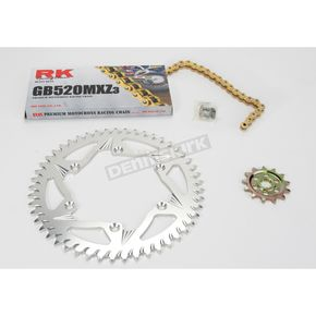 RK GB520MXZ Chain and Sprocket Kit - 2022-048ZG