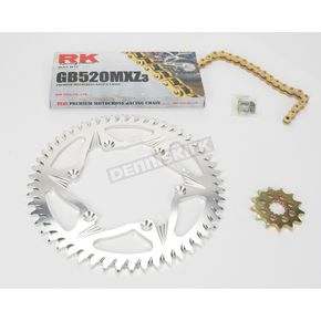 RK GB520MXZ Chain and Sprocket Kit - 2022-058ZG