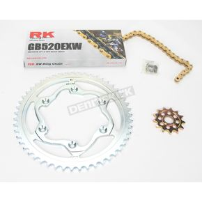 RK GB520EXW Chain and Sprocket Kit - 4121-018SG
