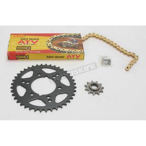 Regina 520 Quad Z-Ring Chain and Sprocket Kit - 5QUAD078KPO0