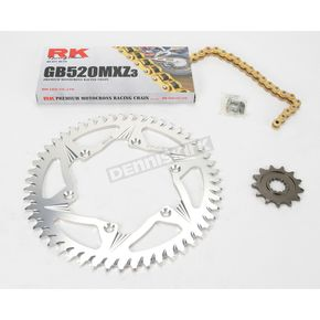 RK GB520MXZ Chain and Sprocket Kit - 2042-068ZG