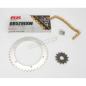 RK GB520EXW Chain and Sprocket Kit - 4066-010RG
