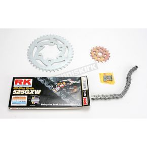 RK Quick Acceleration 525GXW Chain Kit with Light Weight Sprockets - 2108-060W